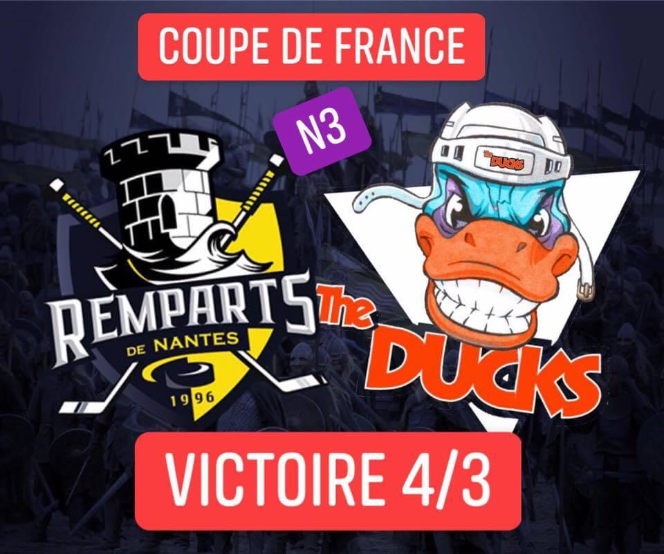 VICTOIRE des N3 – Coupe de France ??